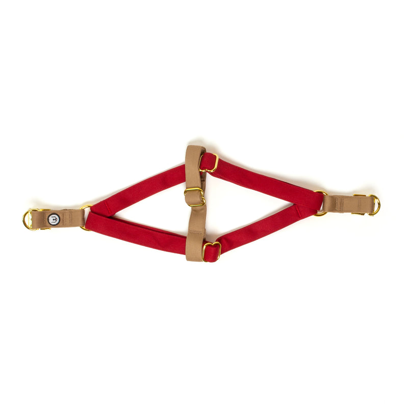 Ruby-Fawn Step-In Harness