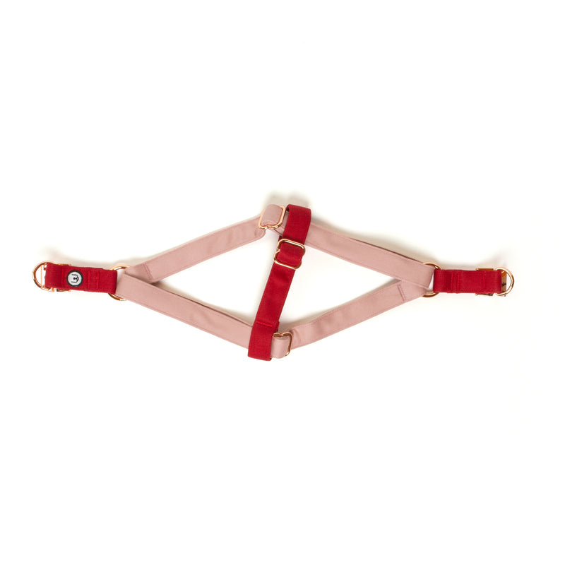 Rose-Ruby Step-In Harness