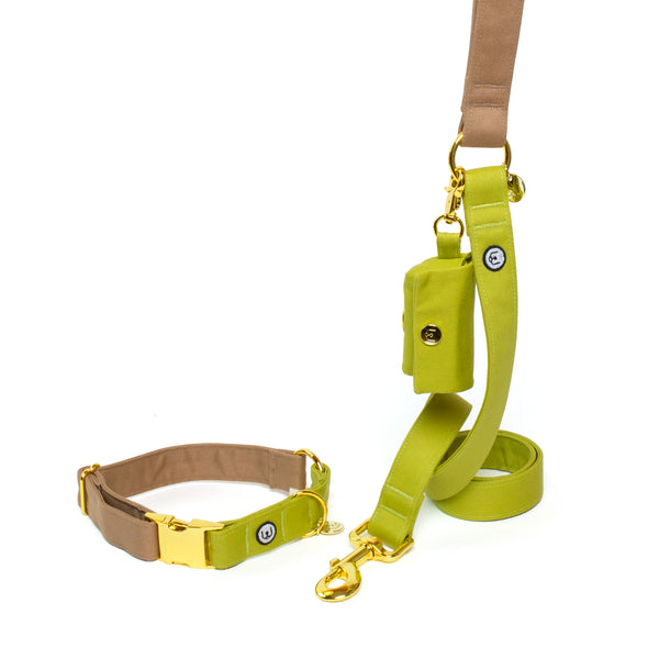 Fawn-Pickle Collar Set