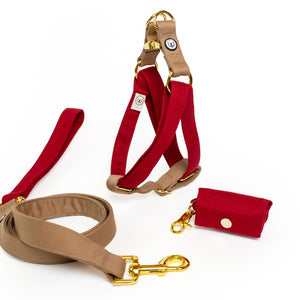 Ruby-Fawn Step-In Harness Set