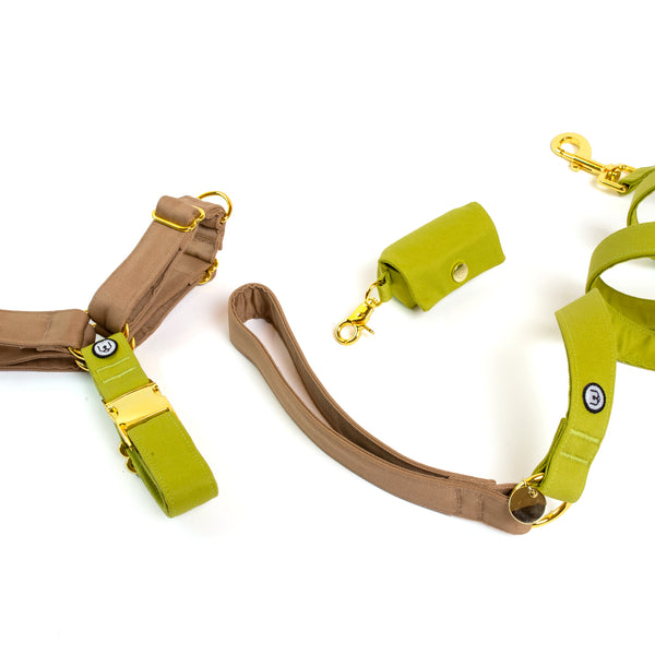 Fawn-Pickle No-Pull Harness Set