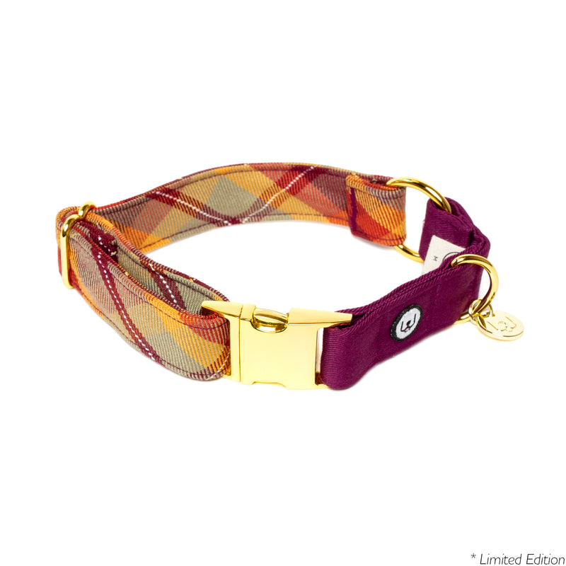 Maple Plaid Collar