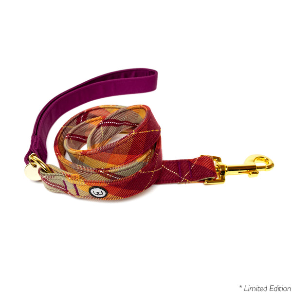 Maple Plaid Leash