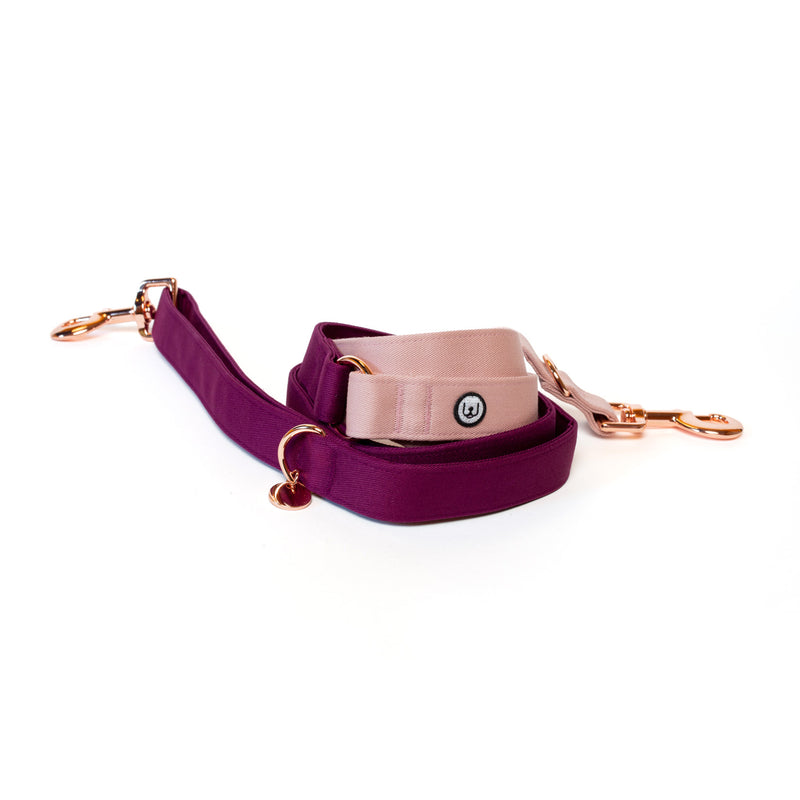 Plum-Rose Collar Set