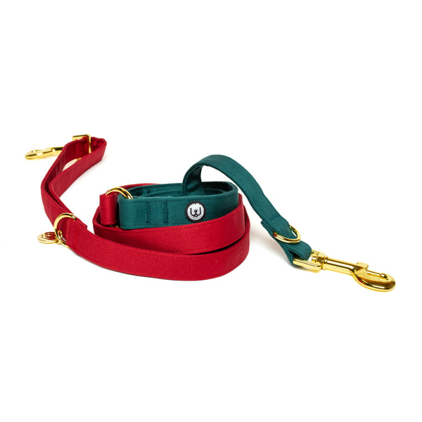 Poinsettia Convertible Leash
