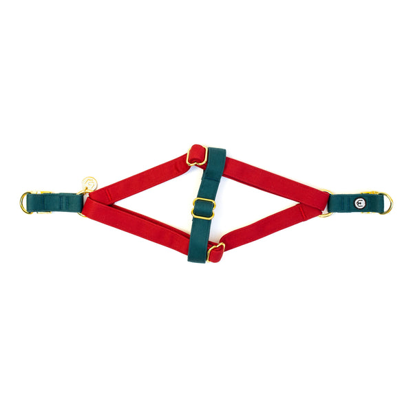 Poinsettia Step-In Harness