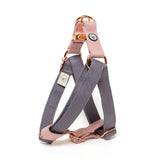 Gray-Rose Step-In Harness