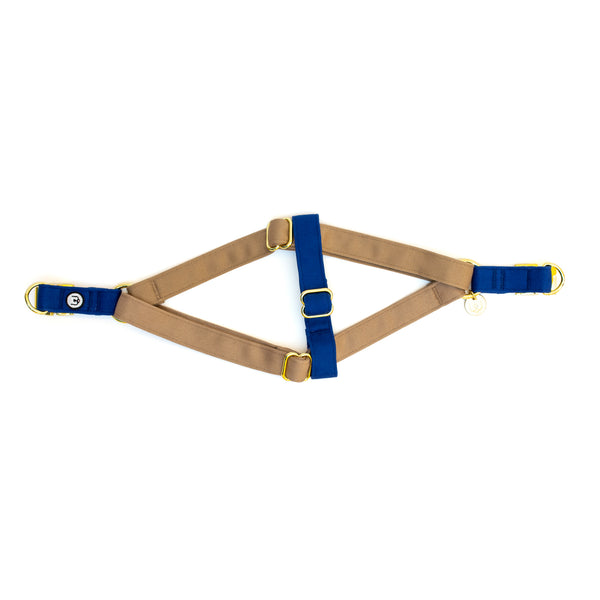 Fawn-Blue Step-In Harness