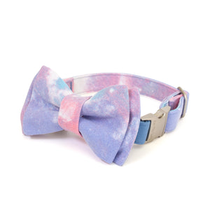 Cotton Candy Collar - Candy Blue