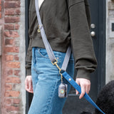 Gray-Blue Convertible Leash