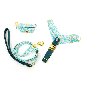 Blooming Days No-Pull Harness Set - Mint