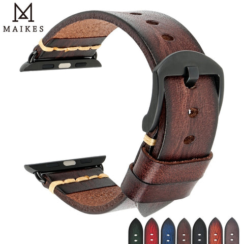 Maikes Watch Accessories For Apple WatchBands 44mm 42mm & Apple Watch Strap 40mm 38mm iwatch Series 5 4 3 2 1 Watch Bracelets