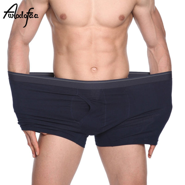 Plus Size Men's Boxer Panties Underpant Lot big size XXXXL Loose Under Wear Large Short Cotton Plus 5XL 6XL Underwear Boxer Male