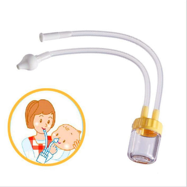 New Born Baby Safety Nose Cleaner Vacuum Suction Nasal Aspirator Nasal Snot Nose Cleaner Baby Care High Quality Infants children