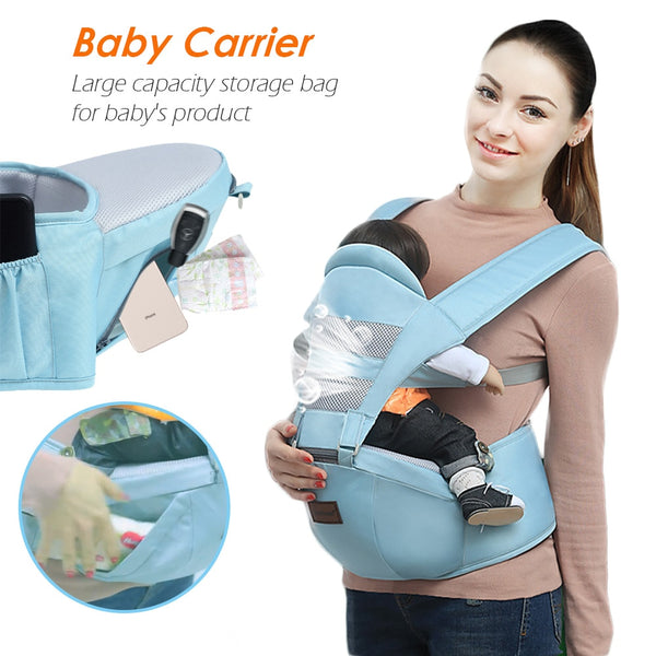 Sling Baby Ergonomic Baby Carrier Waist Stool Kangaroo Bag for Baby Hipseat Infant Insert Toddler Carrier Hip Seat Carrier