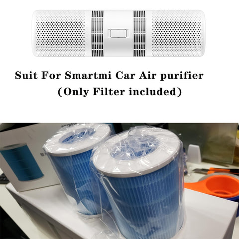 1 pair(2 Pieces)Replacement Spare Parts Filter Suit For Xiaomi Smartmi Car Airpurifier