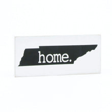 X-Small Wooden TN Home Sign Black