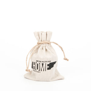 5x7 Home is Where the Heart Is Linen Bag