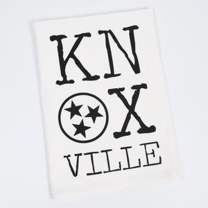 Knoxville TriStar Letterpress Tea Towel