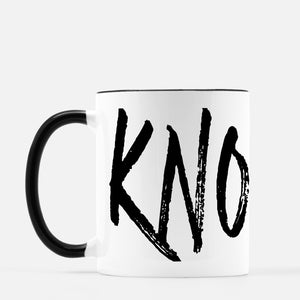 Grunge City Mug - Knoxville