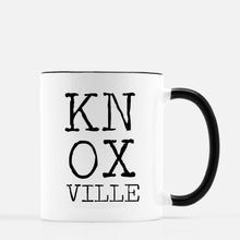 Letterblock Mug - Knoxville