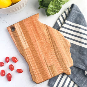 Georgia - State Cutting Board