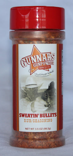 Gunnar's Sweatin' Bullets - 6 fl oz