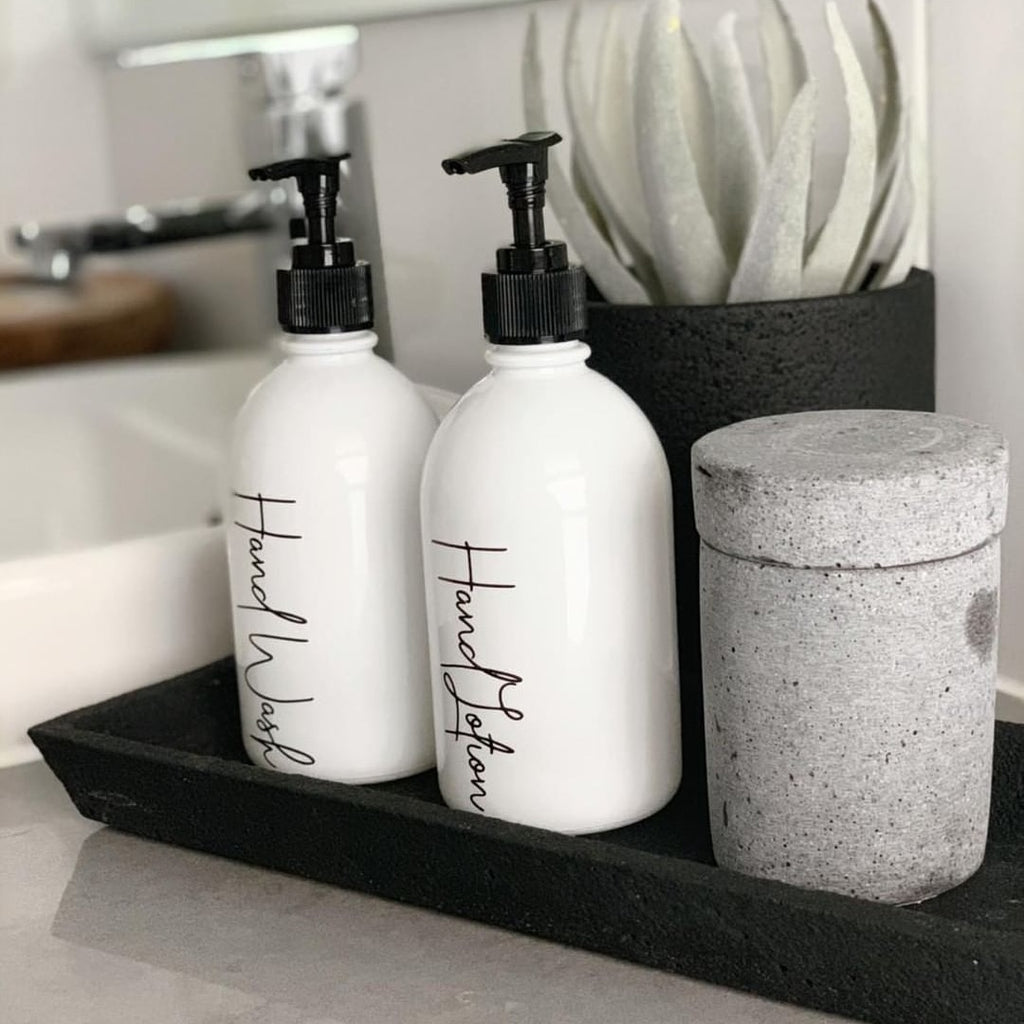 Hand Wash Labels