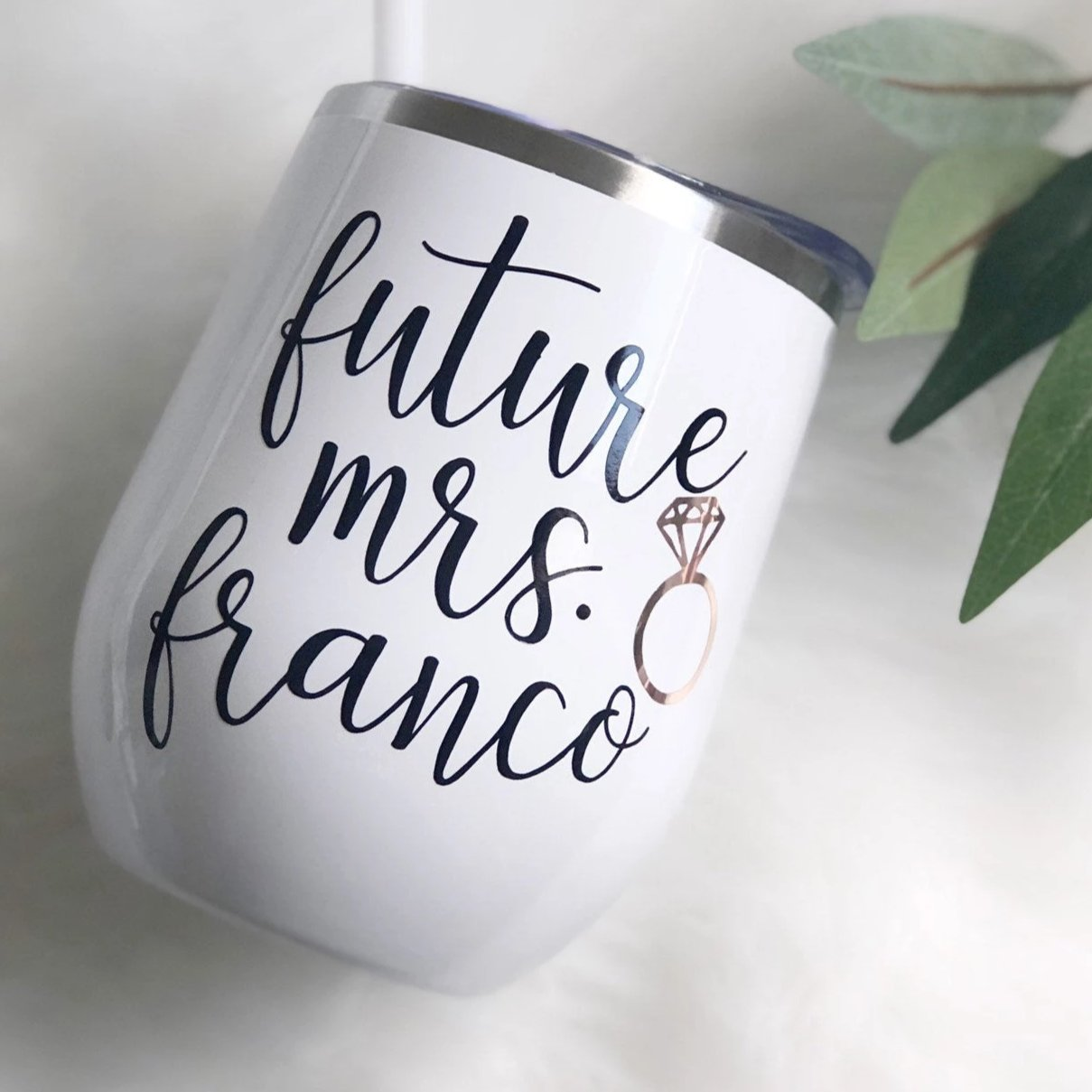 Future Mrs Wine Tumbler