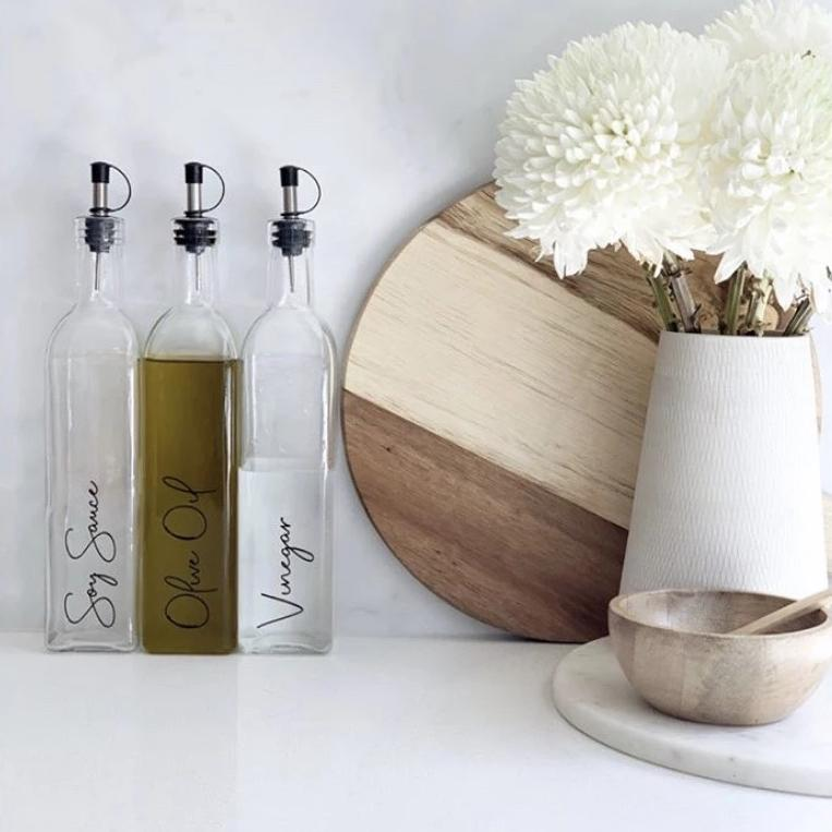 Oil & Vinegar Glass Bottle 500ml