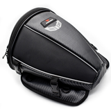 Motorcycle fuel tank rear seat rear side microfiber leather multifunctional bag waterproof diagonal bag rider bag