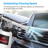 JOINT STARS High Pressure Car Cleaning Gun Jet Cleaner High Pressure Cleaner Car Interior Detailing Kit High Pressure Cleaning Tool Pressure Cleaner for Car Detailing Supplies Free Bonus