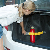 Strap Car Trunk Organizer Stowing Tidying Car-styling Fixed Sundry Belt Automobiles Interior Fire extinguisher Fixing