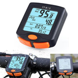 New Multifunction portable Bike Cycling Computer Odometer Speedometer Clear big screen good Backlight waterproof Hot sale 21