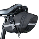 3 Color Nylon Bicycle Bag Bike Waterproof durable Storage Saddle Bag Seat Cycling Tail Rear Pouch Bag Saddle accessories F279