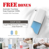 JOINT STARS Touchless Hand Sanitizer Dispenser, 1000 ml Container, with Durable Floor Stand and Drip Tray, for Commercial and All Public Places,refillable, Portable Hand sanitizer Stations