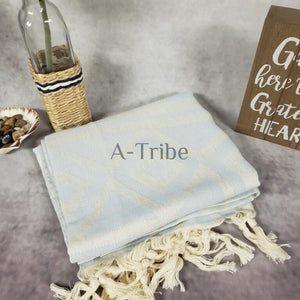 Turkish Beach Towels blue