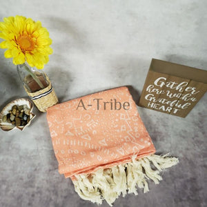 Turkish Beach Towels orange