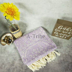 Turkish Beach Towels purple