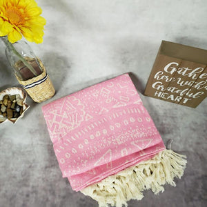 Turkish Beach Towels pink