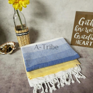 My Turkish Peshtemal towels online store hammam blanket round with fringe cotton made in Turkey By Atribe