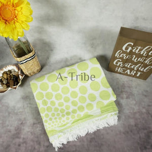 Turkish Beach Towels lime green