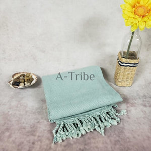 Mint Stone Turkish Peshtemal Towel