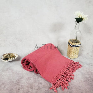 Red Stone Turkish Peshtemal Towel