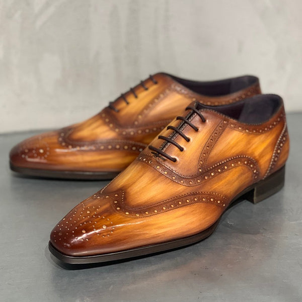 IT10 OXFORD WITH FLOWERED TOE