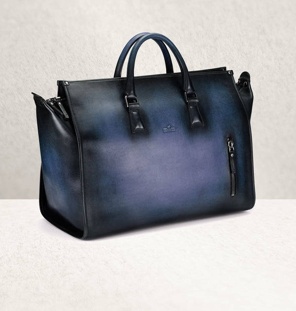 The Weekender Ombré Bleu Travel Bag