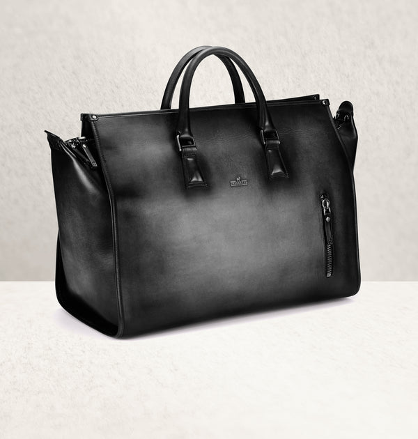 The Weekender Ombré Noir Travel Bag