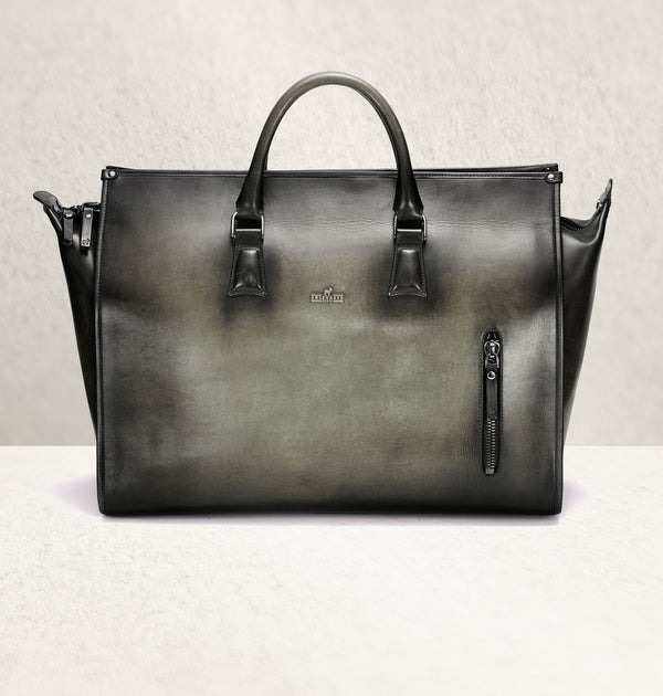 The Weekender Ombré Gris Travel Bag