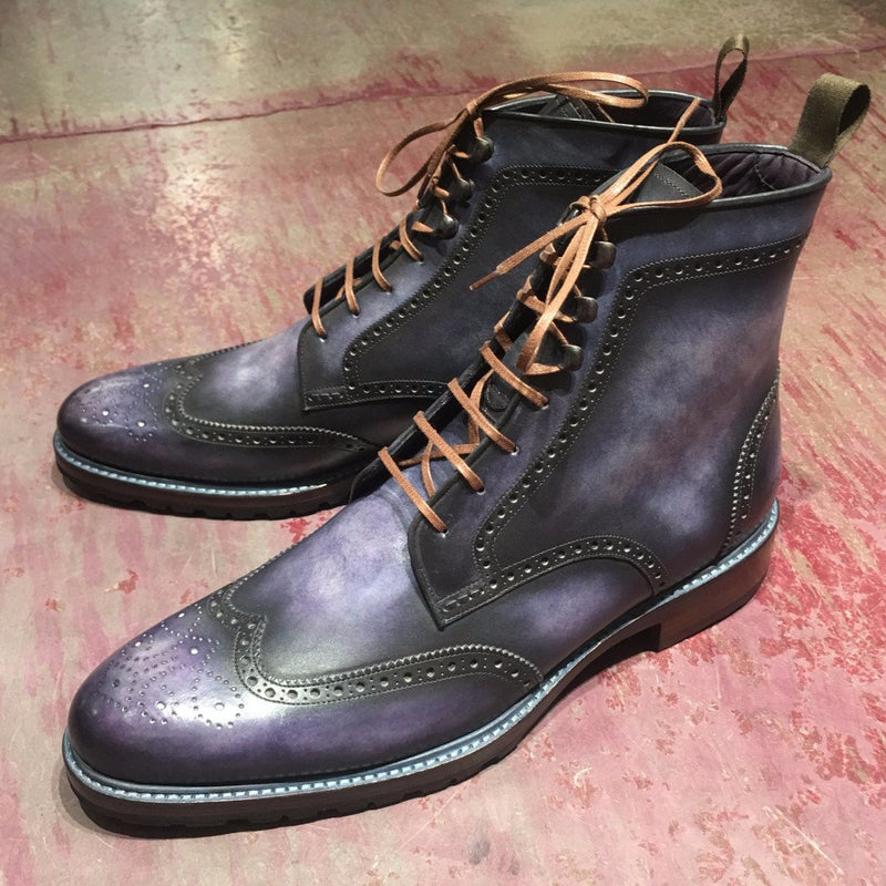 EX03 CROSS BOOT WITH LACES