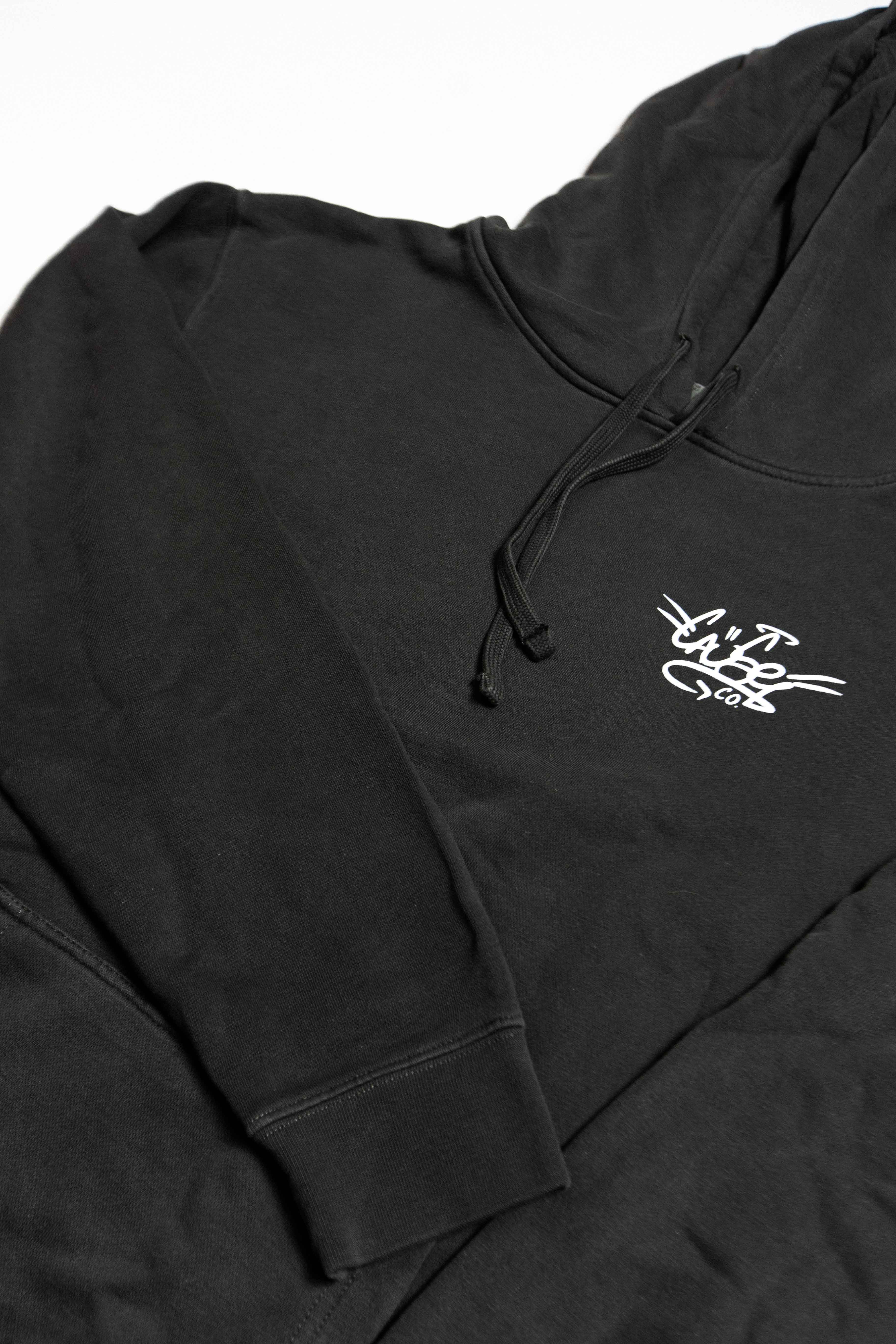 Charcoal Black Pullover Hood